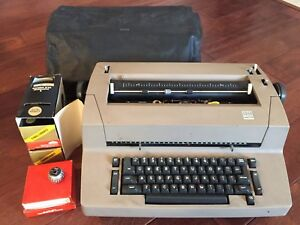 Ibm Selectric Ii 2 Correcting Typewriter W Accessories