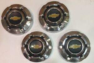 Chevy Truck Hubcaps Dog Dish Stainless 1969 1970 1971 1972 1973 1974 1975 Mint