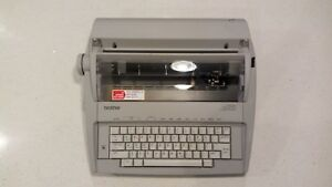 Brother Gx 6750 Electronic Typewriter Correctronic Good Working Condition