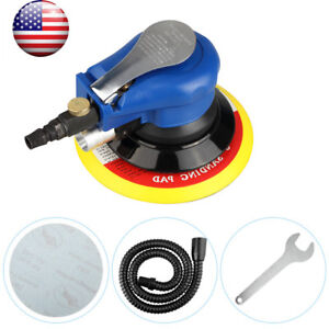 6 Air Palm Sander Random Orbital Sander Self Vacuum 10000rpm With Sand Paper