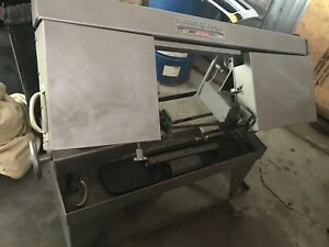 Carolina Horizontal Band Saw Hv12 Hv 12 Bandsaw Single Phase Nice Condition