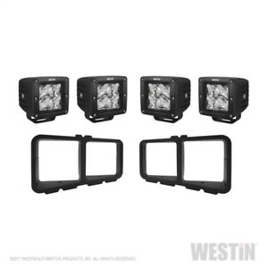 Westin Universal Light Kit For Outlaw Front Bumpers Textured Black 58 9915
