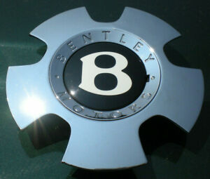 Bentley Continental Chrome Factory Center Cap P n 3w0601161af 3w0601161ae