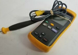 Genuine Fluke 51 Ii Thermometer Tested Warranty