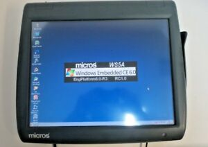 Micros Work Station 5 System Unit 400814 001