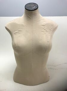 Fusion Specialties Mannequin Dress Form Female Torso Upper Body Bust Fast Ship W