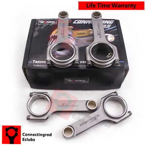 4x Forged Connecting Rods For Mitsubishi 4g93 Lancer Fto Space 1 8 Early Model
