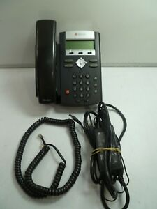 Lot Of 26 Polycom Ip 335 Business Phones W Handsets Stands Pwr 2201 12375 001