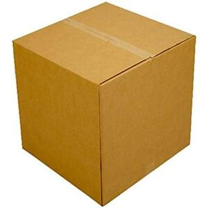 Moving Boxes Large Size 20x20x15 value 6 Pack Packing Shipping Storage