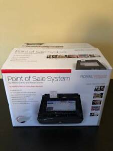New In Box Royal Pos1500 Touchscreen Cash Register Lowest Price Free Shipping