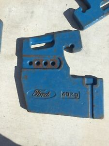 Ford 40 Kg 88 Lb Suitcase Weights Came Off A 7740 Tractor Will Fit Many More