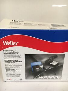 Weller Wesd51 Soldering Station digital 50w 120v