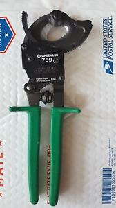 Cable Cutter Compact Ratchet Greenlee 759
