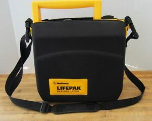 Lifepak 500 Automated External Defibrillator With Protective Case And New Pads