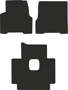 Volvo Truck Vn Vnl Vt Black Rubbertite All weather 3pc Floor Mats Fits 1998 2018