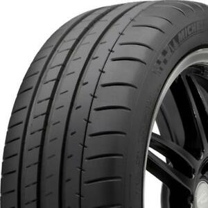 2 New 255 35zr19 92y Michelin Pilot Super Sport 255 35 19 Tires