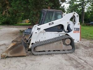 2006 Bobcat T300 Multi Terrain Skid Steer Track Loader