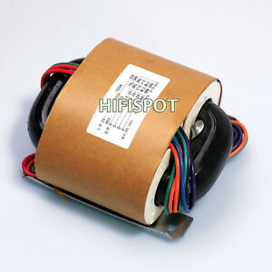 100w R core Transformer For Audio Amplifier Power Amp Selectable Input Outputs
