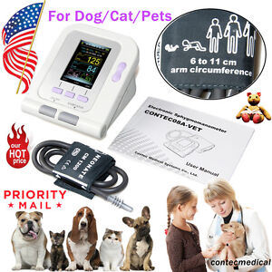 Contec08a Digital Veterinary Blood Pressure Monitor cuff Usb Software us Seller