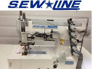 Sewline Sl 562 New Top Quality Hi Speed Coverstitch Industrial Sewing Machine