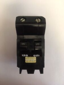 Federal Pacific 125a Main Breaker For Stab lok Panel