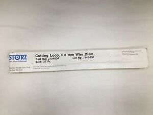 Karl Storz 27040 Df Cutting Loop W 0 8mm Wire