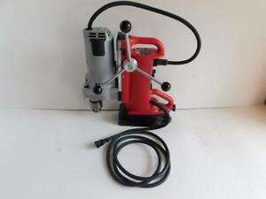 Milwaukee 4203 3 4 Electromagnetic Mag Magnetic Drill Press Swivel Base 4262 1