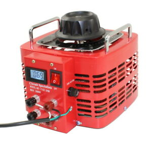 Bench Top 30 Amp Variac Variable Auto transformer With Lcd Digital Display