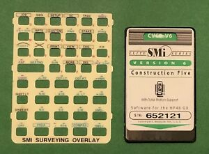 Smi Cvce Construction Five Card For Hp 48gx Calculator