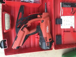 Hilti Gx 120 Gas Actuated Full Automatic Fastening Nail Gun Package