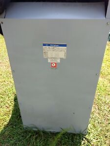 Westinghouse class Aa Type 2 Single Phase Transformer 60 Hz kva 100 wt 750