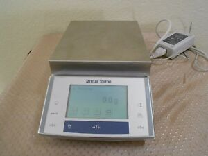 Mettler Toledo Precision Balance Xs4001s Scale W Power Adapter 4100 0 1g Great