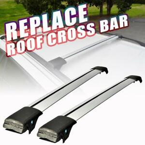 2x Universal Top Roof Rack Cross Bar Clamps Anti Thief Kayak Luggage Carrier Car