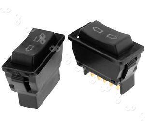 Auto Led Universal Power Window Switch 5 Pin Up Down Rocker Switch 12v 5 Pin