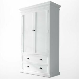 Novasolo Halifax Wardrobe In Pure White