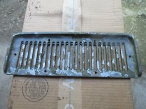 Jeep Metal Cowl Grille Commando Jeepster Heater Air Intake Cover Ships Free
