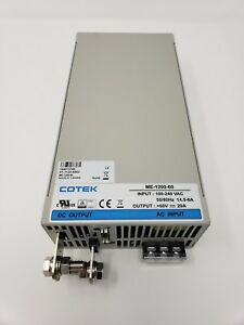 Cotek Me 1200 60 Ac To Dc Power Supply 60v 20 Amp 1200w