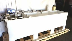 Plating Line With Heaters Thermostats Rinse Tanks Rectifiers Gold Silver Copper