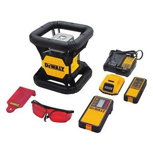 New Dewalt Dw079lr Self Leveling 20 Volt Rotary Laser Level 200 Range 2667277