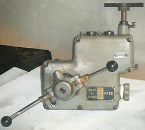 Power Feed Unit For 20 Clausing Drill Press