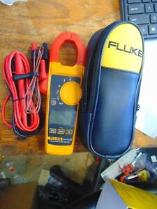 New Fluke 324 Plus 600v Professional Ac dc True Rms Clamp Meter
