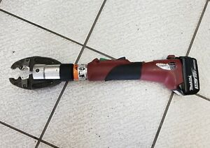 Used Burndy Battery Hydraulic Crimper Crimping D Bg Jaw Crimp Tool 1099 Obo