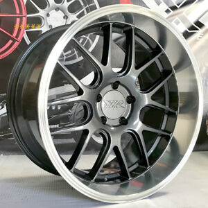 Xxr 530d Wheels 19 20 Graphite Deep Lip Rims Staggered 5x114 3 Fits Nissan 350z