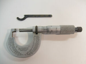 No 230 Ls Starrett Co Micrometer 112 46 With Wrench