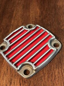 Vintage Vw Schadek Oil Pump Cover With Custom Ceramic Paint