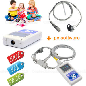 New Digital Spo2 Pulse Oximeter Infant Child Neonatal Blood Oxygen Monitor pc Sw