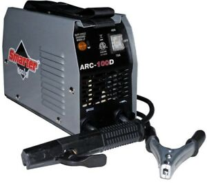 Smarter Tools Stick Welder Machine 2 Stage Switch 100 Amp 120v Household Outlet