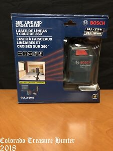 Bosch Gll 2 20 S 360 Line And Cross Laser 65ft