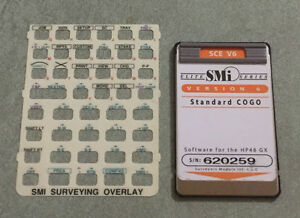 Smi Sce V6 Surveying Card Manual For Hp 48gx Calculator