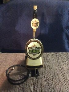 Murphy s Irish Stout Draught Tower engine With Tap Handle Beer Line